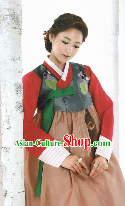 Korean Woman Traditional Clothes Hanbok Dress Shopping Free Delivery Worldwide