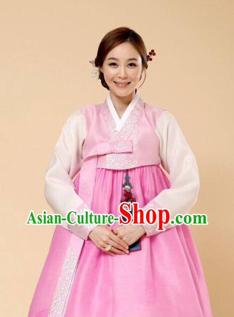 Korean Woman National Costumes Traditional Hanbok Clothes online Shopping