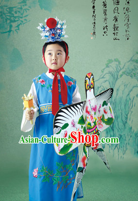 Chinese Traditional National Costumes Jia Baoyu Costume Hair Accessories for Kids