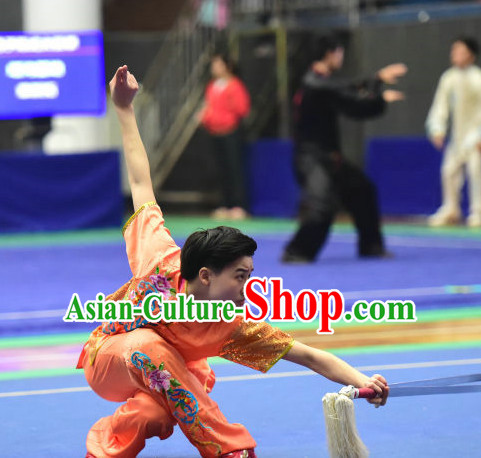 Top Chinese Kung Fu Costume Kung Fu Combat Costumes Wing Chun Karate Uniform Kung Fu Competition Suit Martial Arts Costumes