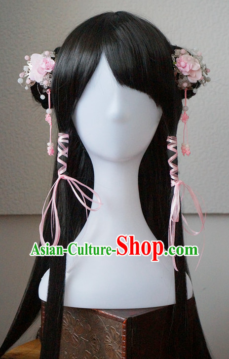 China Shopping online Traditional Chinese Costumes Black Wigs