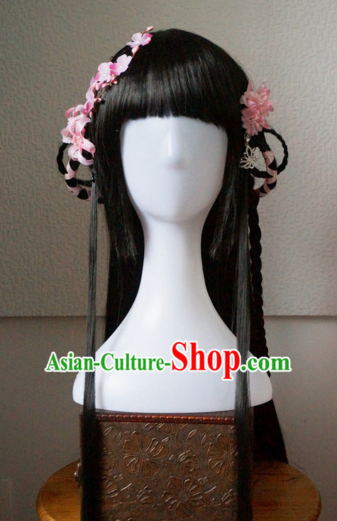 China Shopping online Traditional Chinese Fairy Costumes Black Wigs and Hair Pieces
