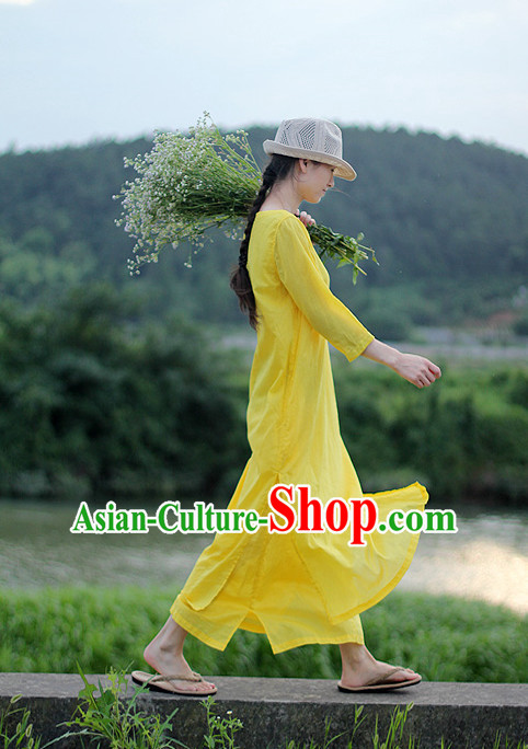 Chinese Traditional Mandarin Dresses for Women