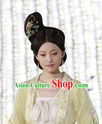 Palace Princess Wigs and Hair Jewelry Complete Set