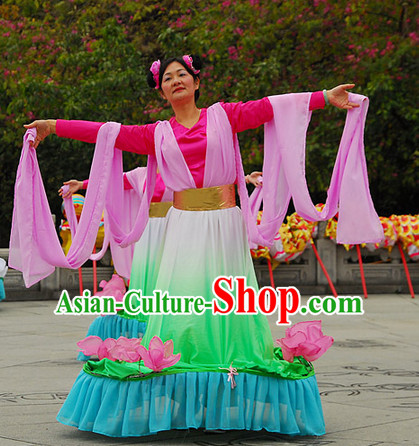 Classic Lotus Dance Costumes