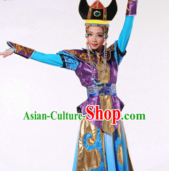 Chinese Mongolia Dance Costume Dancewear Discount Dane Supply Dance Wear China Wholesale Dance Clothes