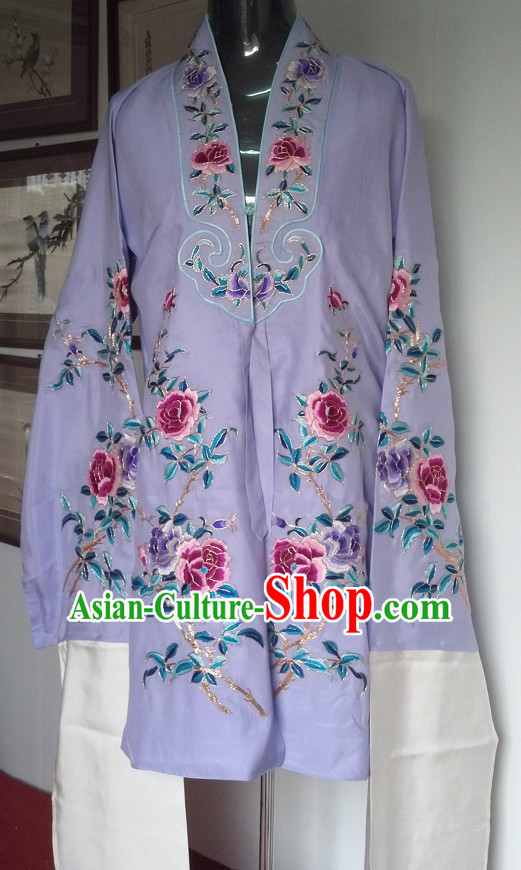Chinese Classical Water Sleeve Long Robe