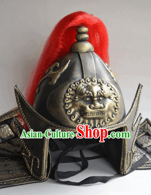 Ancient Chhinese General Helmet Hat