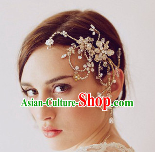 Romantic Bridal Princess Royal Wedding Hair Accessories Hair Jewelry Headwear