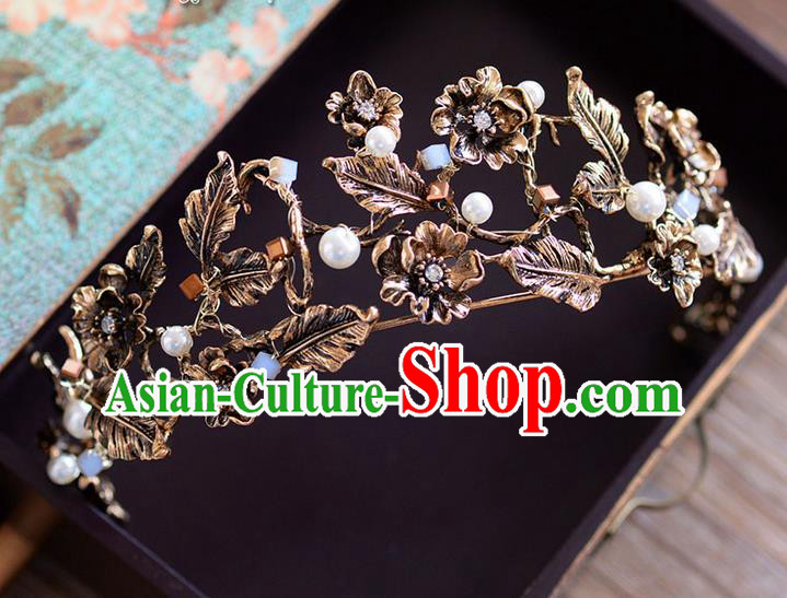 Traditional Jewelry Accessories, Princess Bride Royal Crown, Wedding Hair Accessories, Baroco Style Headwear for Women