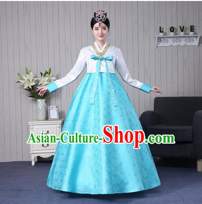 Korean Ancient Clothes Traditional Costumes Wedding Full Dress Formal Attire Ceremonial Clothes Court Stage Dancing
