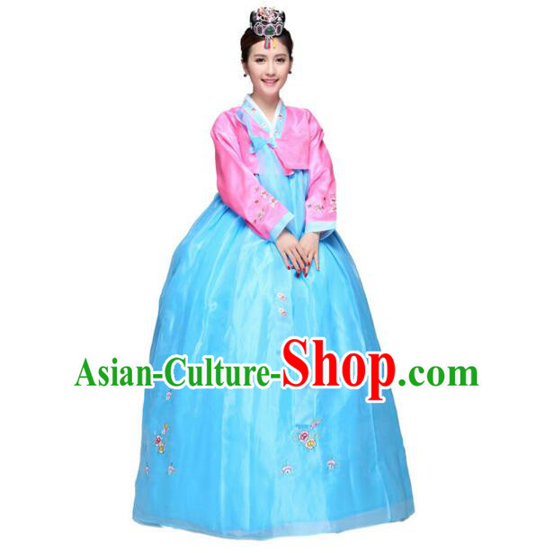 Korean Traditional Costumes Clothes Wedding Dress Korean Full Dress Formal Attire Ceremonial Dress Court Stage Dancing Dae Jang Geum