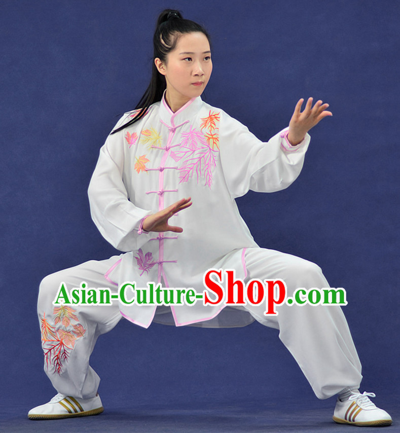 Kung Fu Costume Jacket Uniform Martial Arts Clothes Shaolin Uniform Kungfu Uniforms Supplies for Men Women Adults Kids