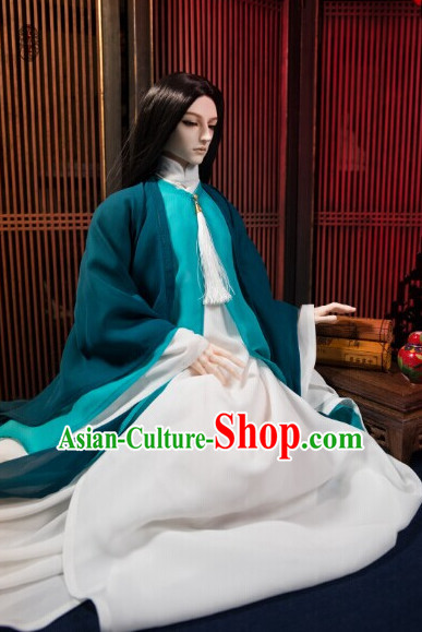 Ancient Chinese Emperor Prince Prime Minister Clothing Complete Set for Men