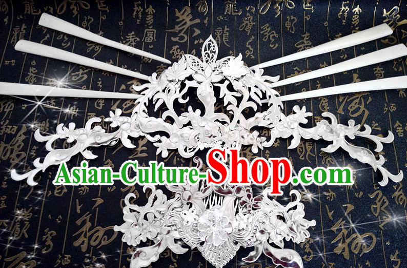 Ancient Chinese Style Princess Empress Hair Accessories for Women Boys Adults Children
