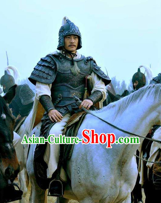 Asian Ancient Chinese Samurai Authentic Fantasy Suit of Body Armor for Sale Complete Set for Men or Boys