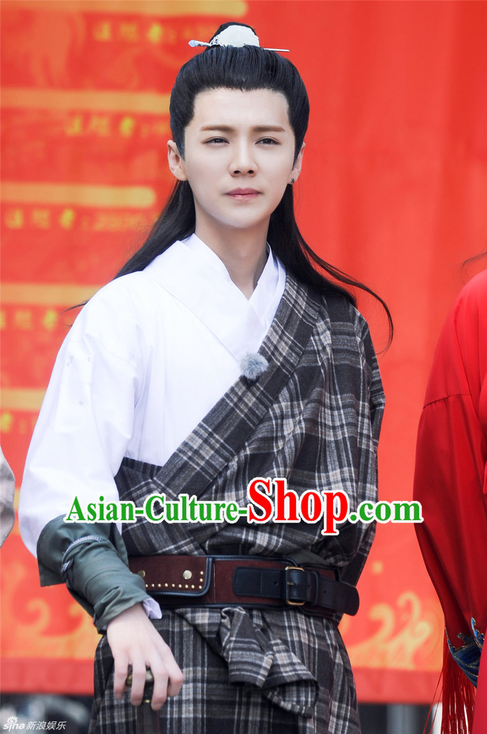 Ancient Chinese Traditional Guo Jing National Hanfu Dress Costumes Clothes Ancient China Clothing for Men