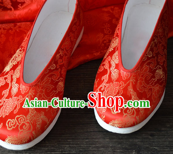 Top Chinese Classic Traditional Kungfu Master Tai Chi Shoes Kung Fu Shoes Martial Arts Fabric Shoes for Women Girls