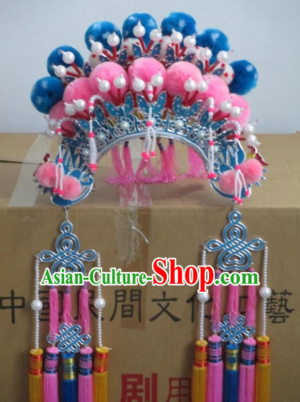 Top Traditional Chinese Opera Phoenix Coronet Hat Props for Adults and Children