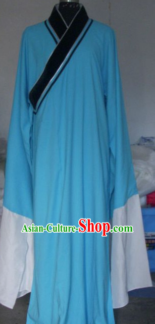 Chinese Traditional Long Sleeve Robe for Men