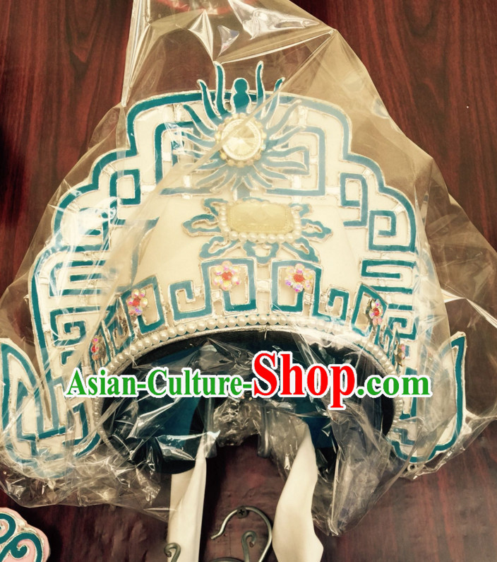 Chinese Classical Yue Opera Dance Costumes Huang Mei Opera Hat