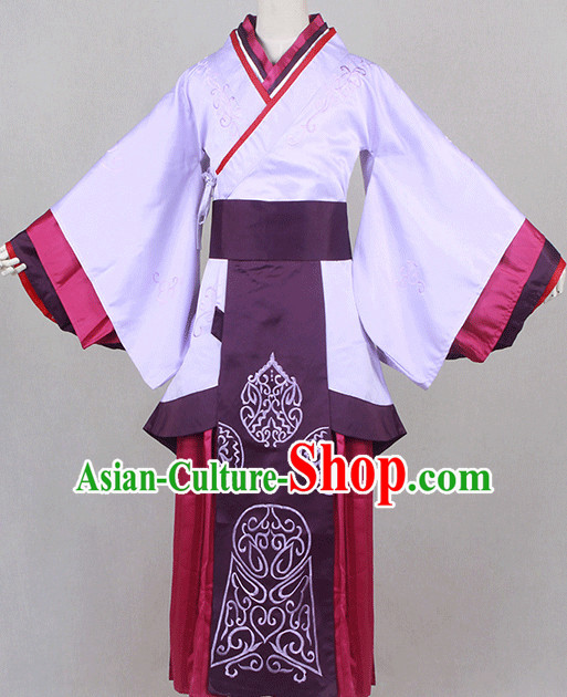 Traditional Chinese Ancient Women Clothing Han Fu Dresses Beijing Classical China Clothing