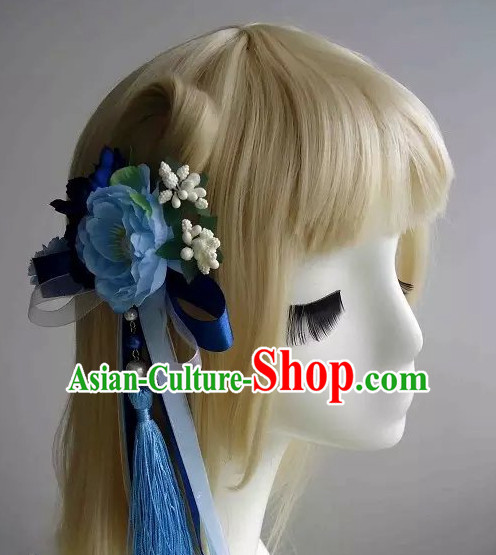 Traditional Chinese Headpiece Headdress Hair Decorations Hair Sticks Head Gear Hair Decoration Set