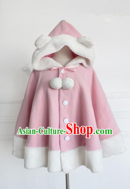 Traditional Classic Women Clothing Cloak, Traditional Classic Short Woolen Cape for Women