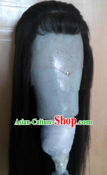 Chinese Ancient Beijing Opera Actress Wig, Traditional Chinese Beijing Opera Diva Wig Sheath