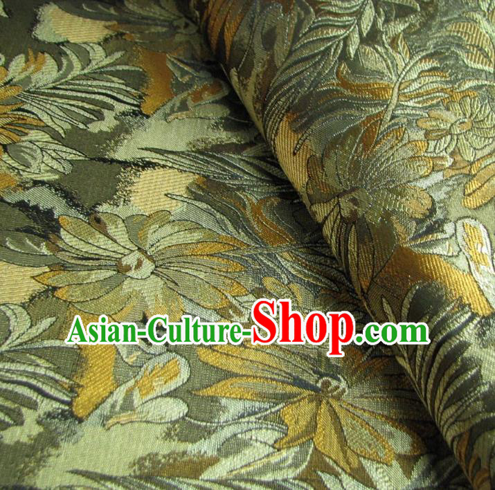 Chinese Traditional Royal Court Pattern Brocade Xiuhe Suit Fabric Ancient Costume Tang Suit Cheongsam Hanfu Material
