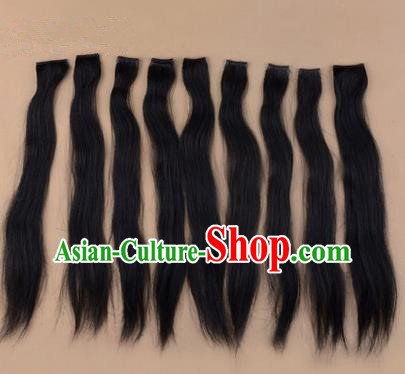 Chinese Ancient Opera Long Wig Beard, Traditional Chinese Beijing Opera Props Hair Do