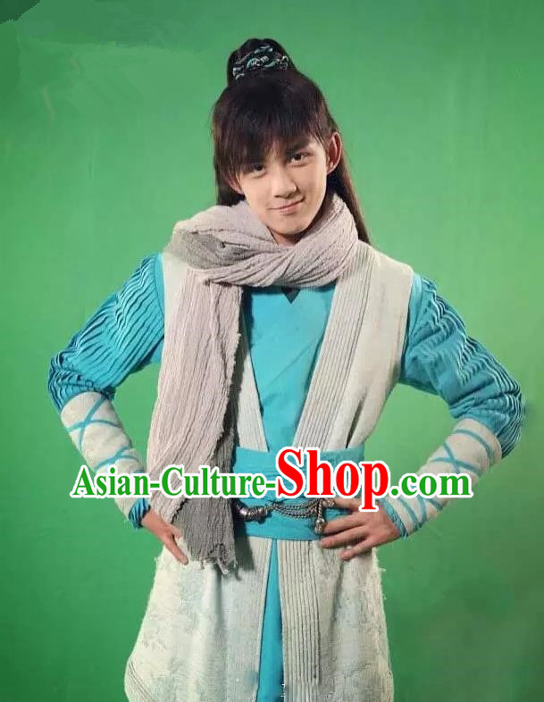 Traditional Chinese Song Dynasty Young Hero Costume, Chinese Ancient Hanfu Jiang Hu Swordsman Clothing for Men
