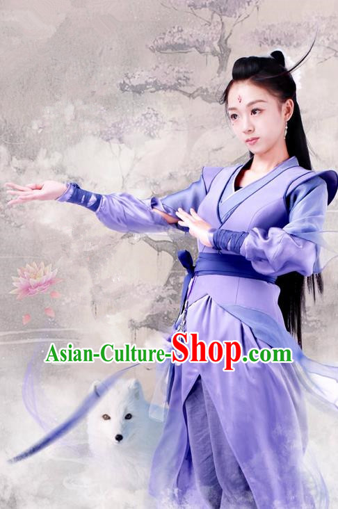 Traditional Ancient Chinese Song Dynasty Female Clothing, Chinese Ancient Princess Peri Hanfu Costume and Headpiece Complete Set
