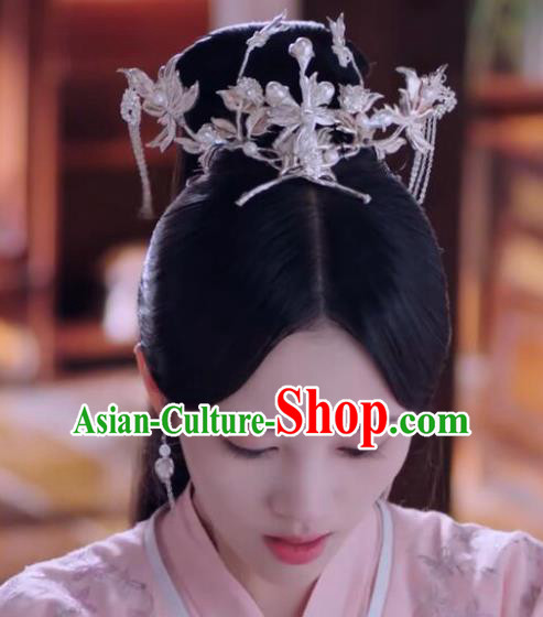 Chinese Ancient Princess Consort Hair Accessories Phoenix Coronet Hairpins Hair Comb for Women