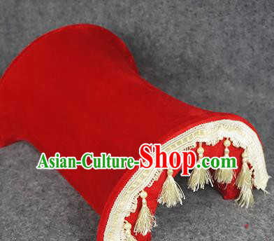 Chinese Traditional Wedding Supplies Red Riding Saddles Bride Saddle