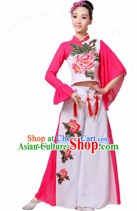 Chinese Traditional Folk Dance Costumes Classical Dance Yanko Dance Clothing for Women