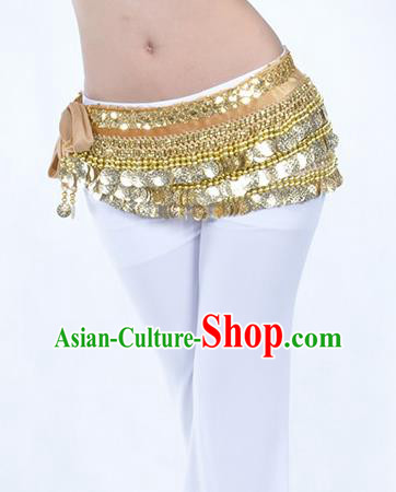 Champagne Waistband Asian Indian Belly Dance Waist Accessories India National Dance Belts for Women