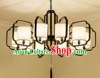 Traditional Chinese Ceiling Palace Lanterns Handmade Ten-Lights Lantern Ancient Lamp