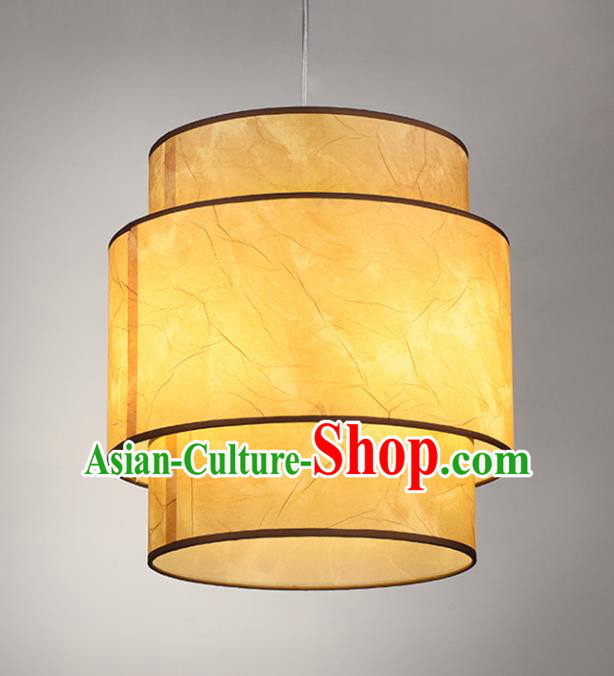 Chinese Classical Handmade Parchment Palace Lanterns Traditional Hanging Lantern Ancient Ceiling Lamp