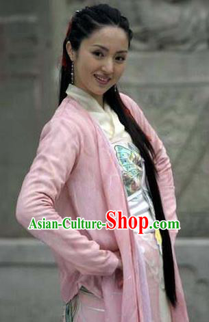 Chinese Ancient Song Dynasty Young Lady Imperial Consort Li Replica Costume for Women