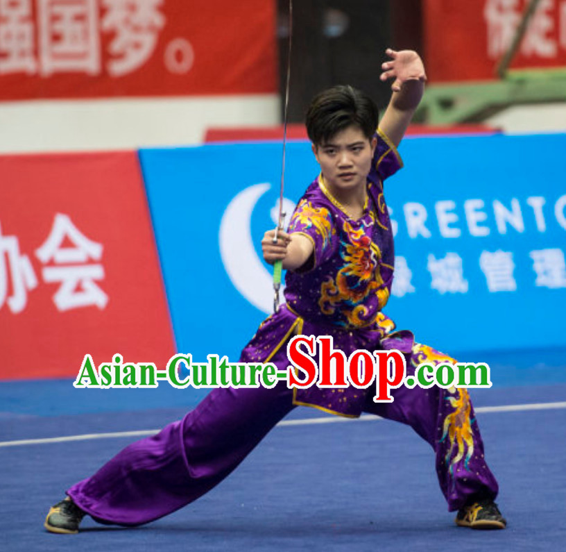 Top Female Southern Fist Gong Fu Uniforms Kung Fu Suit Kung Fu Uniform Chinese Jacket Taiji Clothes Dress Dresses Kung Fu Clothing Embroidered Tai Chi Suits Custom Kung Fu Embroidery Uniforms