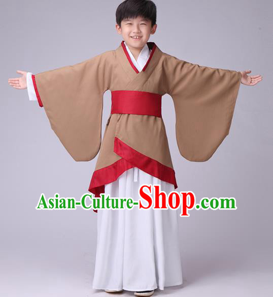 8f91dabc0 Traditional Chinese Ancient Costume Folk Dance Hanfu Clothing for Kids