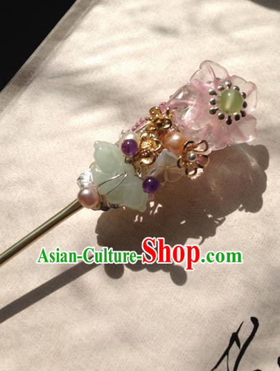 Chinese Handmade Ancient Hanfu Hairpins Hair Accessories Classical Butterfly Hair Clip for Women