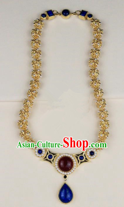 Chinese Handmade Classical Accessories Princess Necklace Hanfu Necklet for Women