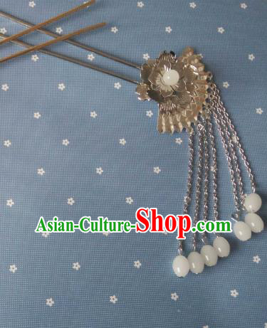 China Ancient Hair Accessories Hanfu Princess Tassel Hair Clips Chinese Classical Hairpins for Women
