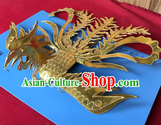 Chinese Traditional Ancient Queen Palace Phoenix Coronet Hairpins Hair Accessories for Women