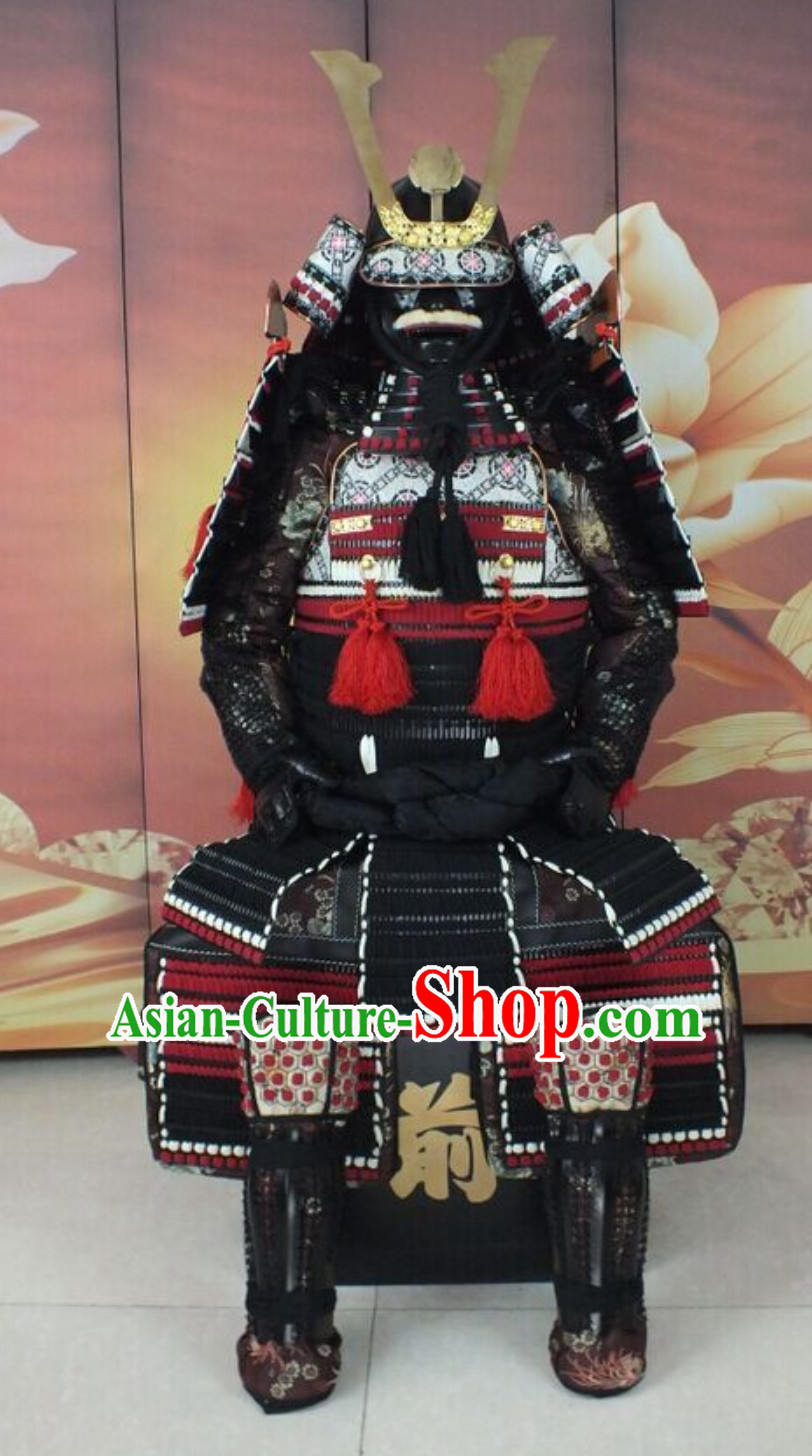 Ancient Authentic Japanese Samurai Armor Japanese Samurai Body Armor Custom Japanese Samurai Armor Mask and Body Armors Full Set