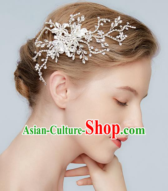 Top Grade Wedding Hair Accessories Bride Crystal Hair Stick for Women