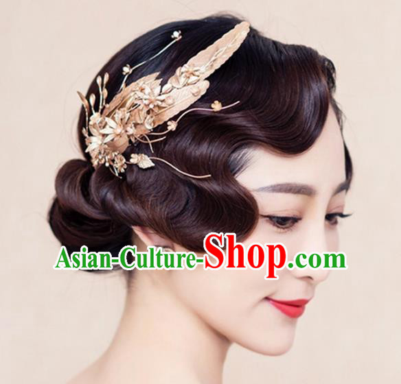 Handmade Wedding Hair Accessories Baroque Bridal Hair Stick Headwear for Women