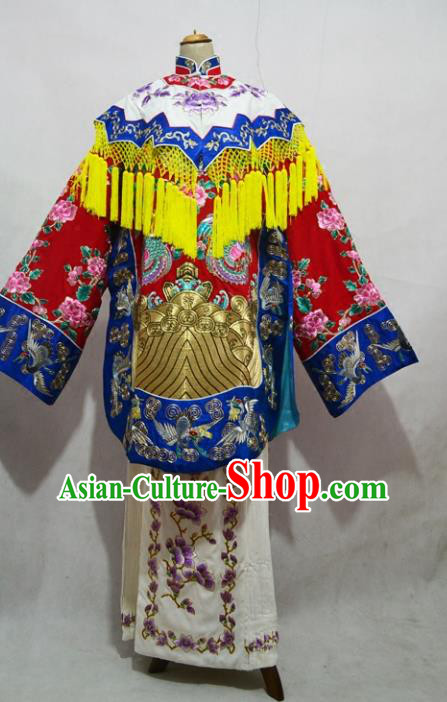 Professional Chinese Beijing Opera Actress Imperial Consort Embroidered Costumes for Adults